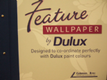 Feature Wallpaper By Dulux For Colemans